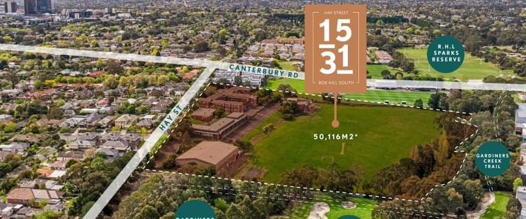 Development / Land commercial property for sale at 15-31 Hay Street Box Hill South VIC 3128