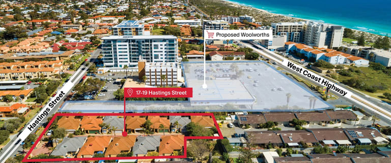Other commercial property for sale at 17-19 Hastings Street Scarborough WA 6019