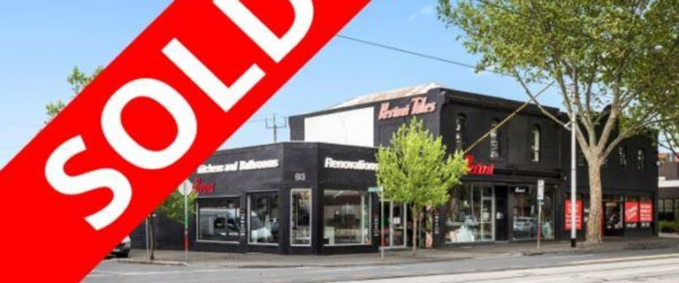 Shop & Retail commercial property sold at 613-617 Bridge Road, Richmond/613-617 Bridge Road Richmond VIC 3121