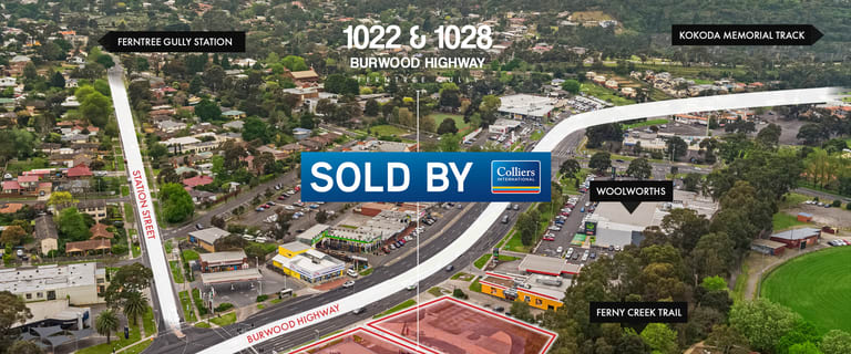 Development / Land commercial property sold at 1022 & 1028 Burwood Highway Ferntree Gully VIC 3156
