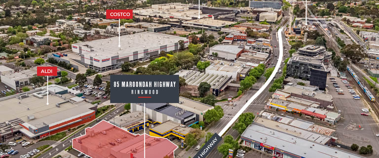Shop & Retail commercial property for sale at 85 Maroondah Highway Ringwood VIC 3134