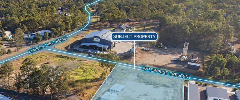 Factory, Warehouse & Industrial commercial property for sale at 39 Enterprise Crescent Mcdougalls Hill NSW 2330