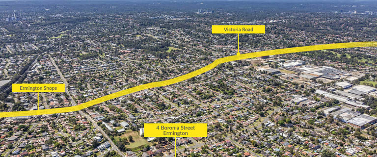Development / Land commercial property for sale at 4 Boronia Street Ermington NSW 2115
