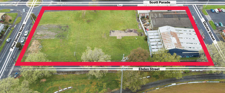 Development / Land commercial property for sale at 203 Peel Street North Ballarat Central VIC 3350