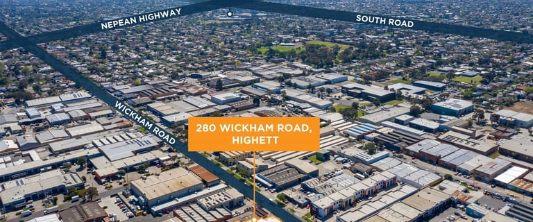 Factory, Warehouse & Industrial commercial property for sale at 280 Wickham Road Highett VIC 3190
