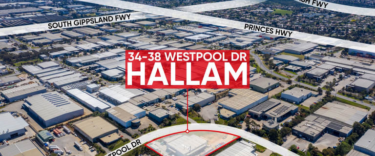 Factory, Warehouse & Industrial commercial property for sale at 34 - 38 Westpool Drive Hallam VIC 3803