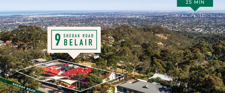 Other commercial property for sale at 9 Sheoak Road Belair SA 5052