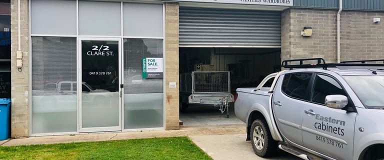Factory, Warehouse & Industrial commercial property for sale at 2/2 Clare Street Bayswater VIC 3153