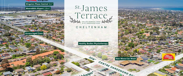 Medical / Consulting commercial property for sale at St James Terrace/294-296 Warrigal Road & 157 Centre Dandenong Road Cheltenham VIC 3192
