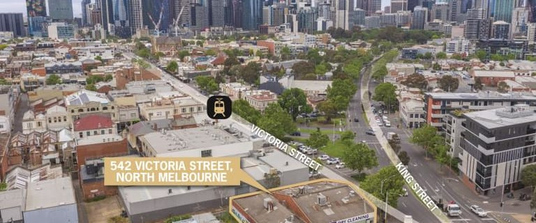 Development / Land commercial property for sale at 542-548 Victoria St North Melb/542-548 Victoria Street North Melbourne VIC 3051