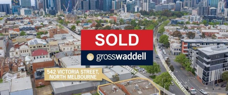 Offices commercial property sold at 542-548 Victoria Street North Melbourne VIC 3051