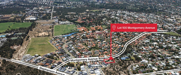 Development / Land commercial property for sale at Lot 100 Montgomery Avenue Mount Claremont WA 6010