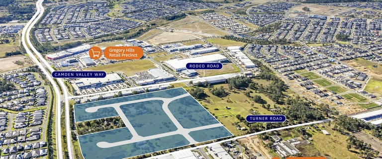 Development / Land commercial property for sale at 17 Turner Road Gregory Hills NSW 2557