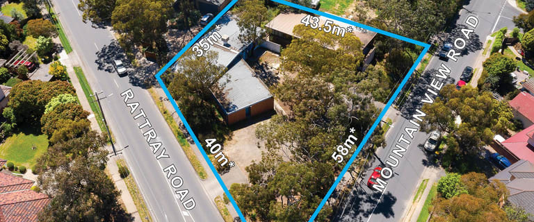 Development / Land commercial property for sale at 1-3 Mountain View Road Montmorency VIC 3094