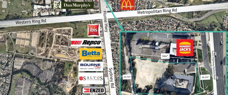 Development / Land commercial property for sale at 2-10 Camp Road Campbellfield VIC 3061