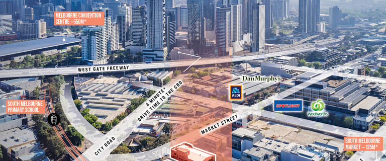 Development / Land commercial property for sale at 139-145 Market Street South Melbourne VIC 3205