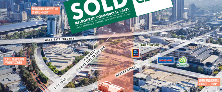 Development / Land commercial property sold at 139-145 Market Street South Melbourne VIC 3205