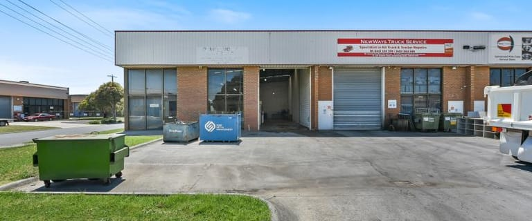 Factory, Warehouse & Industrial commercial property sold at Unit 4/19 Stephen Road Dandenong South VIC 3175