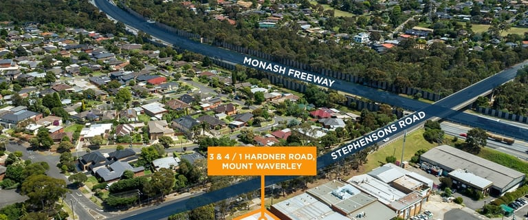 Showrooms / Bulky Goods commercial property for sale at 3&4/1 Hardner Road Mount Waverley VIC 3149
