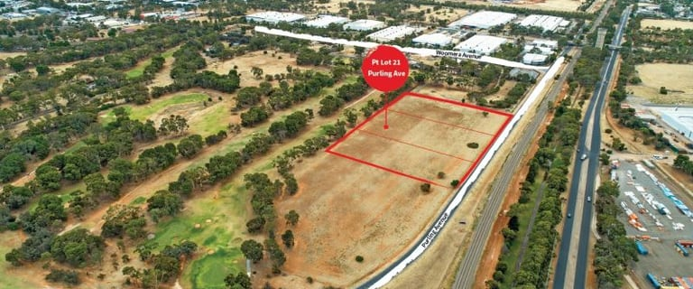 Factory, Warehouse & Industrial commercial property for sale at Pt Lot 21 Purling Avenue Edinburgh SA 5111