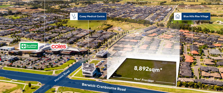 Development / Land commercial property for sale at 260s Berwick Cranbourne Road Cranbourne East VIC 3977