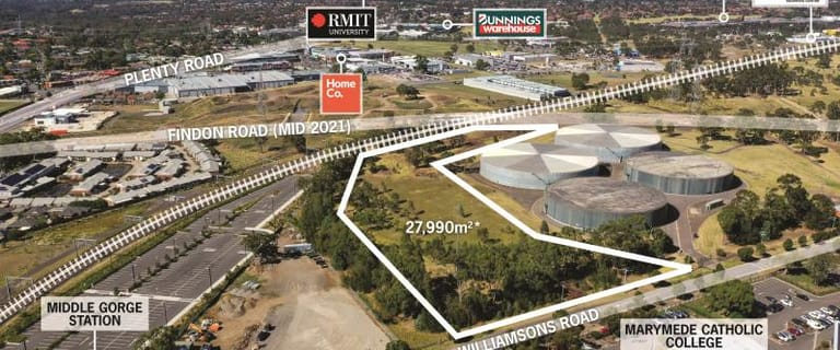 Development / Land commercial property for sale at 91 Williamsons Road South Morang VIC 3752