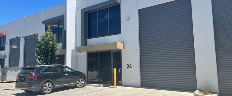 Factory, Warehouse & Industrial commercial property for sale at 24 Optic Way Carrum Downs VIC 3201