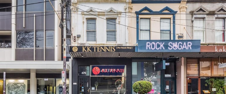 Shop & Retail commercial property sold at 475 Malvern Road South Yarra VIC 3141