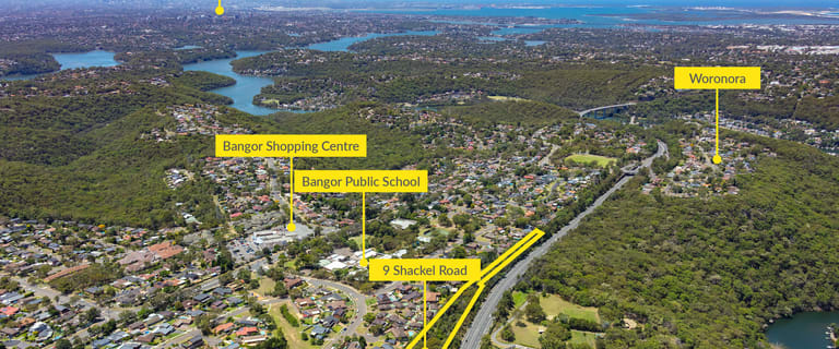 Development / Land commercial property for sale at 9 Shackel Road Bangor NSW 2234