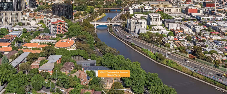 Development / Land commercial property for sale at 125-127 Alexandra Avenue South Yarra VIC 3141