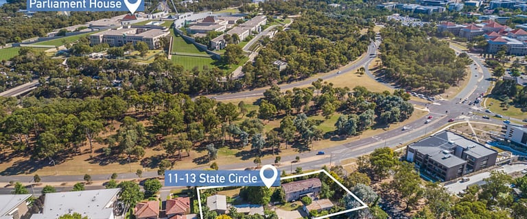 Development / Land commercial property for sale at 11-13 State Circle Forrest ACT 2603
