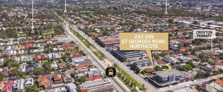 Development / Land commercial property for sale at 243-249 St Georges Road Northcote VIC 3070