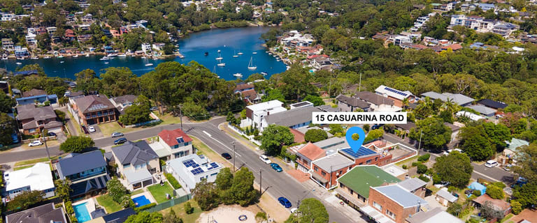 Other commercial property for sale at 15 Casuarina Road Gymea Bay NSW 2227