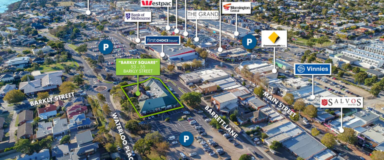 Shop & Retail commercial property sold at Shops 1-9/53-55 Barkly Street Mornington VIC 3931