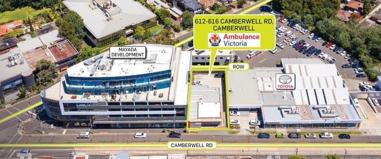 Offices commercial property for sale at 612-616 Camberwell Road Camberwell VIC 3124