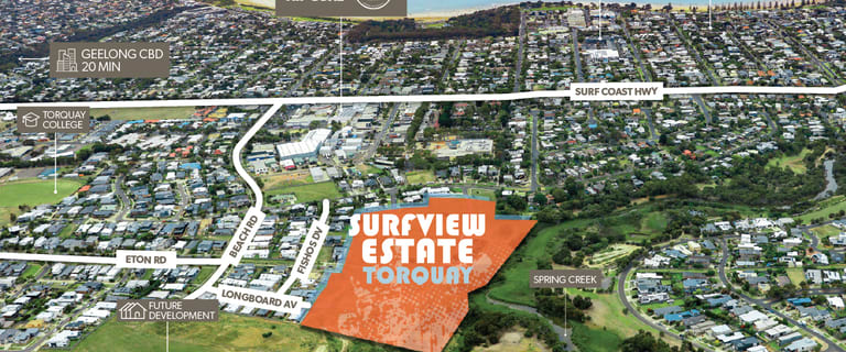 Rural / Farming commercial property for sale at Lot H/ Surf View Estate, 72 Eton Road Torquay VIC 3228
