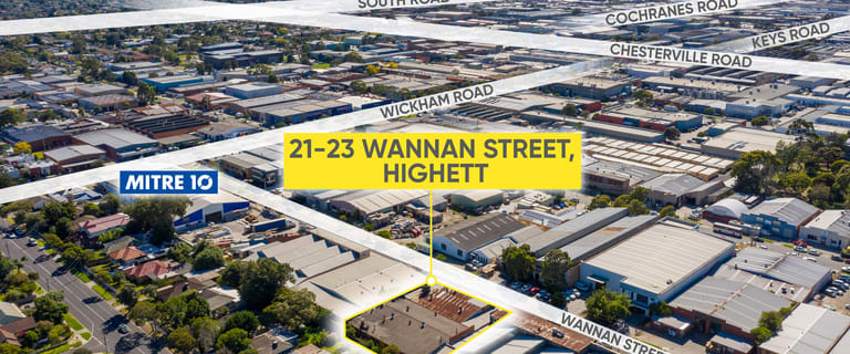 Other commercial property for sale at 21-23 Wannan Street Highett VIC 3190
