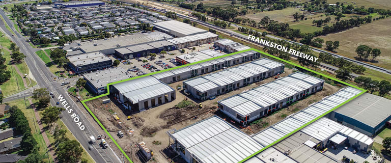 Factory, Warehouse & Industrial commercial property for sale at 1,2,3 & 4/107 Wells Road Chelsea Heights VIC 3196