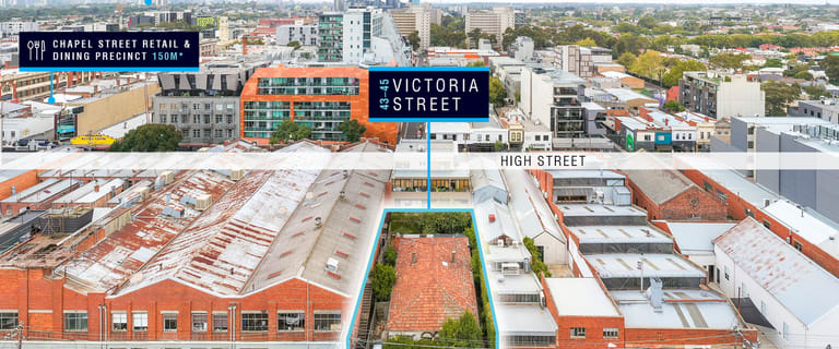 Development / Land commercial property for sale at 43-45 Victoria Street Windsor VIC 3181