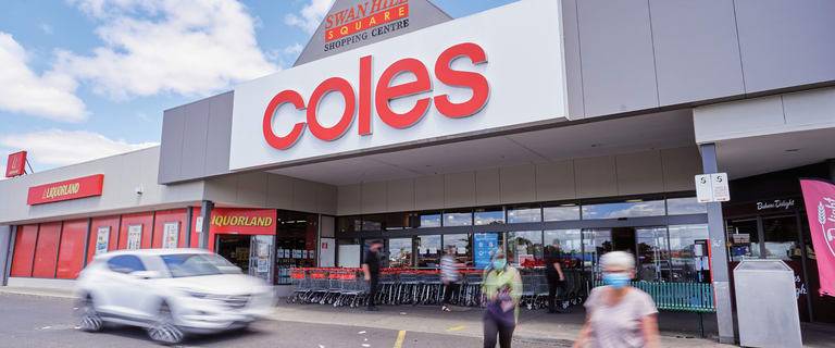 Shop & Retail commercial property for sale at Coles Swan Hill Shopping Centre, Cnr Beveridge St & McCrae Street Swan Hill VIC 3585