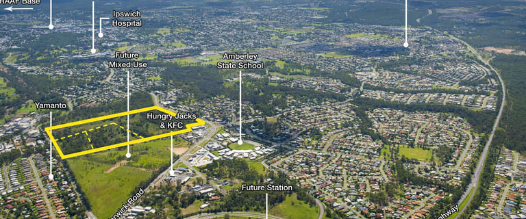 Development / Land commercial property for sale at 11 Saleyards Road Yamanto QLD 4305