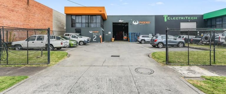 Factory, Warehouse & Industrial commercial property for sale at 2 Paul Court Dandenong VIC 3175