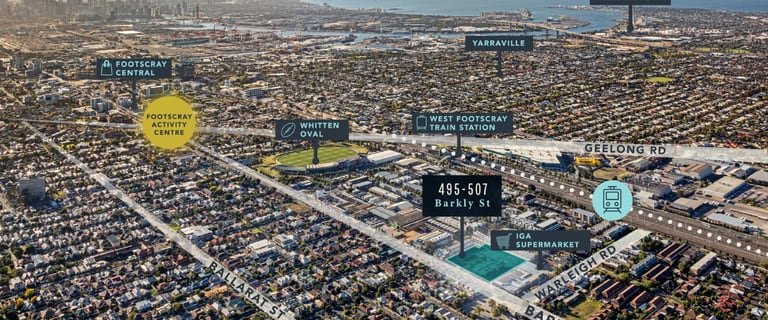 Development / Land commercial property for sale at 495-507 Barkly Street Footscray VIC 3011