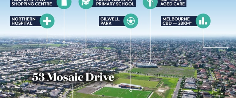 Medical / Consulting commercial property for sale at Level 1, 53 Mosaic Drive (Mosaic Village) Lalor VIC 3075