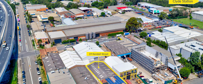 Factory, Warehouse & Industrial commercial property sold at 19 Kendall Street Clyde NSW 2142