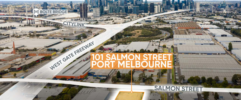 Development / Land commercial property for sale at 101 Salmon Street Port Melbourne VIC 3207