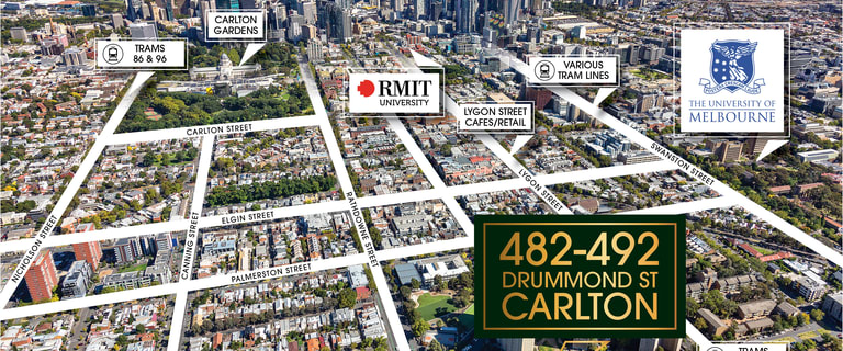 Development / Land commercial property for sale at 482-492 Drummond Street Carlton VIC 3053