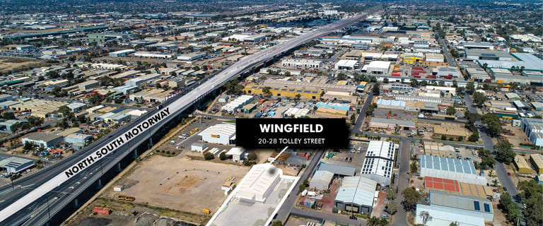 Factory, Warehouse & Industrial commercial property for sale at 20-28 Tolley Street Wingfield SA 5013