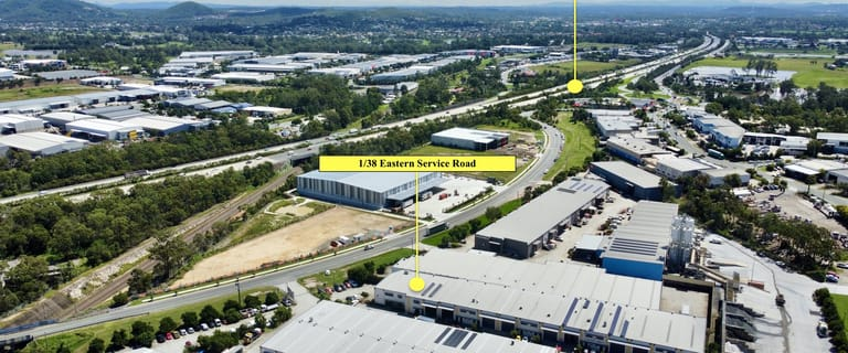 Factory, Warehouse & Industrial commercial property for sale at 1/38 Eastern Service Road Stapylton QLD 4207