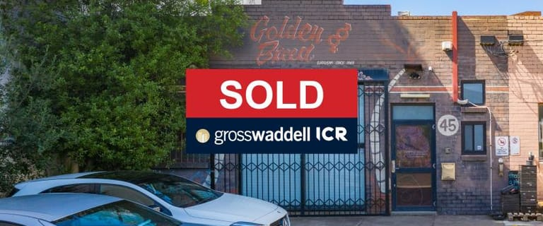 Factory, Warehouse & Industrial commercial property sold at 45 Porter Street Prahran VIC 3181
